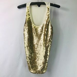 MOSSIMO SEQUINED TANK